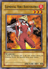 Elemental Hero Burstinatrix - YSDJ-EN006 - Common - 1st Edition