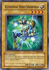 Elemental Hero Sparkman - YSDJ-EN008 - Common - 1st Edition on Channel Fireball