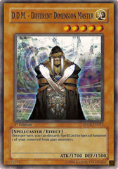 D.D.M. - Different Dimension Master - SDDE-EN015 - Common - 1st Edition on Channel Fireball