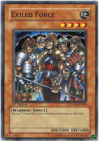 Exiled Force - SDWS-EN008 - Common - 1st Edition