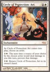 Circle of Protection Art - Arena Unhinged on Channel Fireball