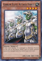 Goblin Elite Attack Force - BP03-EN017 - Rare - 1st Edition