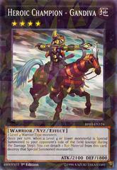 Heroic Champion - Gandiva - BP03-EN124 - Shatterfoil - 1st Edition