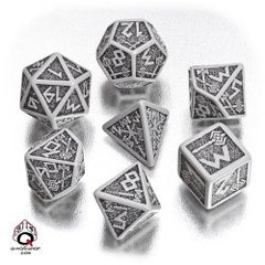 Gray-Black Dwarven Dice Set