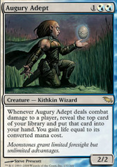 Augury Adept on Channel Fireball
