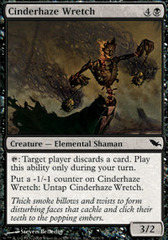 Cinderhaze Wretch on Channel Fireball