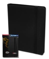 BCW Pro-Folio 9-Pocket LX - Black