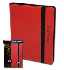 BCW Pro-Folio 9-Pocket LX - Red