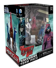 DC Heroclix: Trinity of Sin Team Base - SDCC 2013 Exclusive
