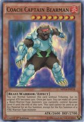 Coach Captain Bearman - MP14-EN118 - Ultra Rare - 1st Edition