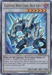 Celestial Wolf Lord, Blue Sirius - MP14-EN183 - Ultra Rare - 1st Edition