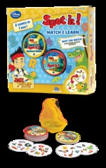Spot It! Match & Learn Jake and the Never Land Pirates