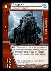 Batman, Avatar of Justice - Foil