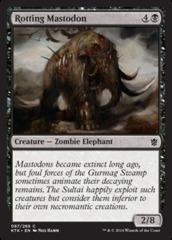 Rotting Mastodon - Foil