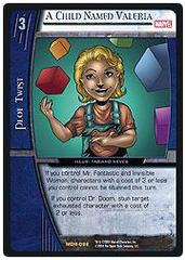 A Child Named Valeria - Unlimited Edition - Foil