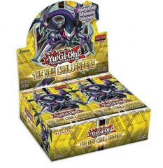Yugioh The New Challengers Booster Box (1st Edition) <Next>