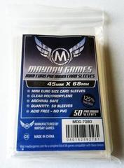 50 ct Mini Euro Card Sleeves - Premium (45mm x 68mm)