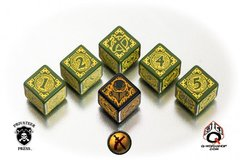 Warmachine Mercenaries Faction Dice Set
