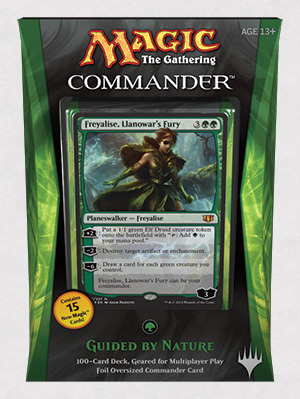 Commander 2014: Guided by Nature (Green)
