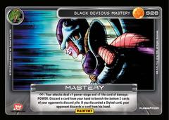 Black Devious Mastery S28 - High Tech Foil