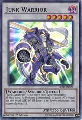 Junk Warrior - LC5D-EN029 - Super Rare - 1st Edition