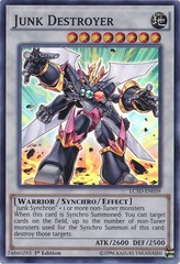 Junk Destroyer - LC5D-EN039 - Super Rare - 1st Edition