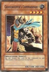 Gravekeeper's Commandant - TU02-EN019 - Common - Promo Edition