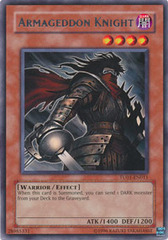 Armageddon Knight - TU01-EN011 - Rare - Promo Edition on Channel Fireball