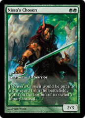Nissa's Chosen - Extended Art Game Day Promo