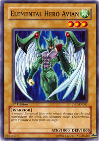 Elemental Hero Avian - DP1-EN001 - Common - 1st Edition