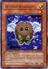 Winged Kuriboh - DP1-EN005 - Rare - 1st Edition