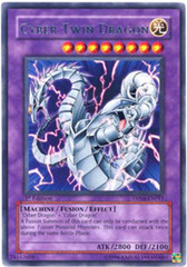 Cyber Twin Dragon - DP04-EN011 - Rare - 1st Edition