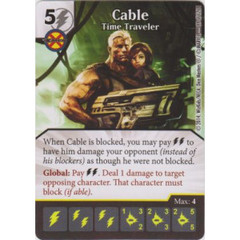 Cable - Time Traveler (Die  & Card Combo)
