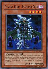 Destiny Hero - Diamond Dude - DP05-EN003 - Common - 1st Edition on Channel Fireball