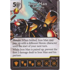 Iron Man - Superhero (Die  & Card Combo)