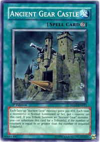 Ancient Gear Castle - SD10-EN023 - Common - 1st Edition
