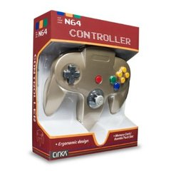 Accessory: Controller Cirka Gold N64