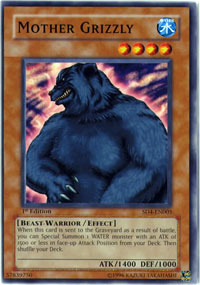 Mother Grizzly - SD4-EN005 - Common - 1st Edition