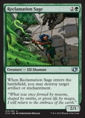 Reclamation Sage on Channel Fireball
