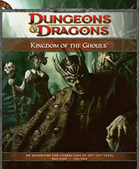 4th Edition E2 Kingdom of the Ghouls