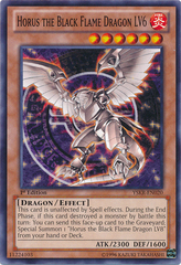 Horus the Black Flame Dragon LV6 - YSKR-EN020 - Common - Unlimited Edition