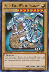 Blue-Eyes White Dragon - YSKR-EN001 - Common - Unlimited Edition