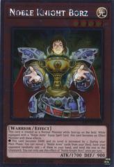 Noble Knight Borz - NKRT-EN009 - Platinum Rare - Limited Edition on Channel Fireball