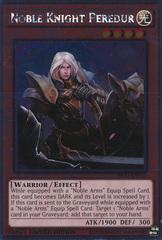 Noble Knight Peredur - NKRT-EN010 - Platinum Rare - Limited Edition on Channel Fireball