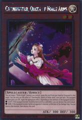 Gwenhwyfar, Queen of Noble Arms - NKRT-EN012 - Platinum Rare - Limited Edition