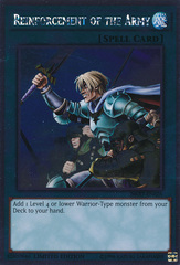 Reinforcement of the Army - NKRT-EN026 - Platinum Rare - Limited Edition on Channel Fireball