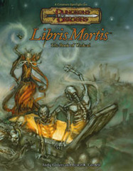 D&D Libris Mortis: The Book of Undead 3.5 HC