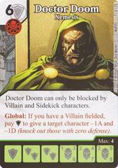 Doctor Doom - Nemesis (Die & Card Combo)