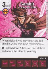 Gambit - Ace in the Hole (Die & Card Combo)