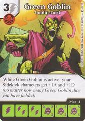 Green Goblin - Goblin-Lord (Die & Card Combo)